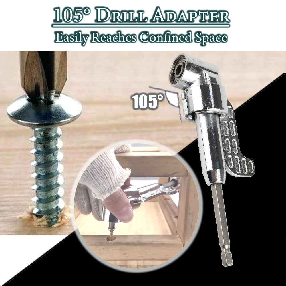 105 Degree Drill Adapter