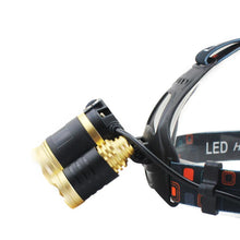 Load image into Gallery viewer, 10000 Lumen LED Headlamp with 2 X 18650mah Batteries