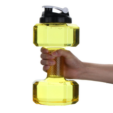 Load image into Gallery viewer, 2.5L Large Capacity Dumbbell Shaped Bpa Free Plastic Water Bottle