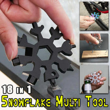 Load image into Gallery viewer, 18 in 1 Snowflake Multi Tool