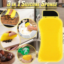 Load image into Gallery viewer, 3 in 1 Silicone Sponge