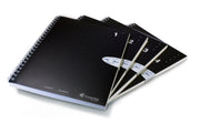 A5 Single Subject Notebook, 4-pack (#1-4)