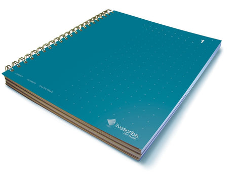 Three Subject Notebook, #1, Teal
