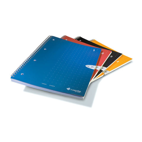 A4 Single Subject Notebook, 4-Pack (#1-4)