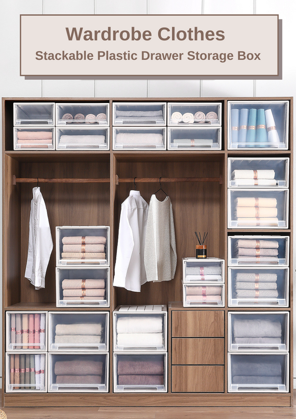 Wardrobe Clothes Storage Box