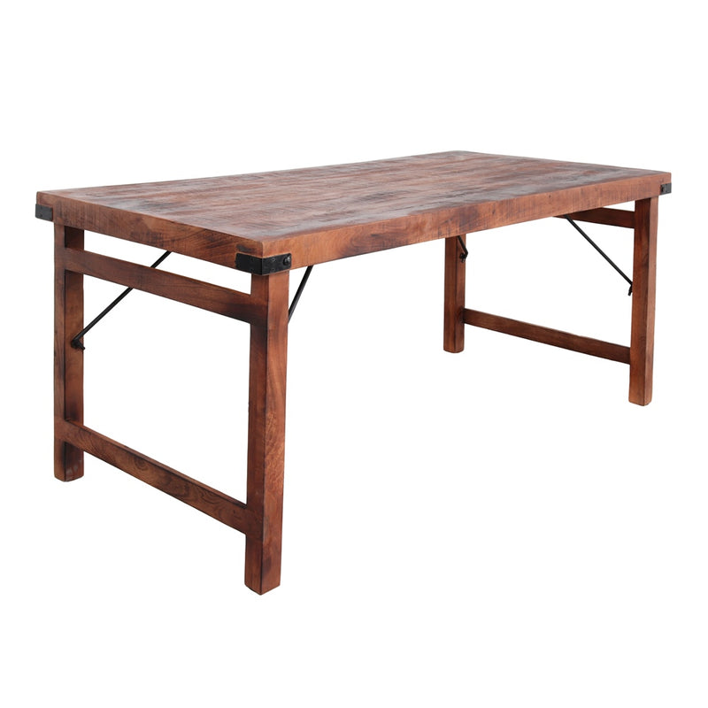 Table en bois pliable - 175X86 cm