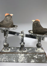 Load image into Gallery viewer, 2027 How much does a hen weigh? (2 Chickens & Metal Scale)