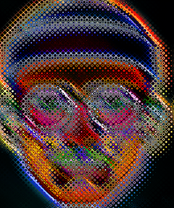 Trippin' (Inspired by Chuck Close)