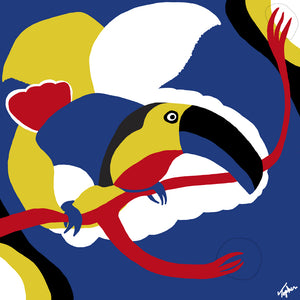 Toucan (Inspired by Miró)