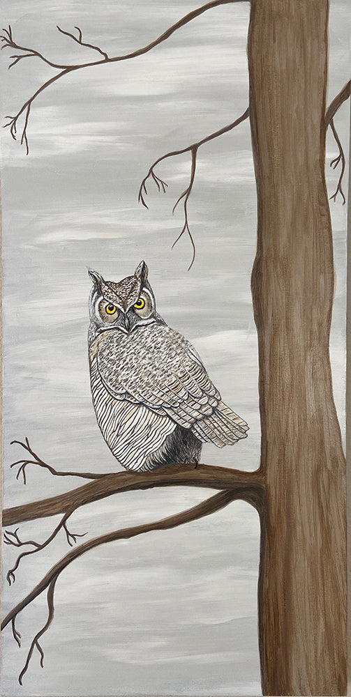 Winter - Great Horned Owl