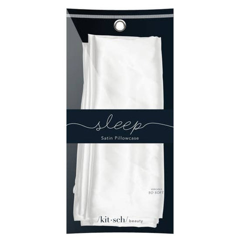 Ivory Satin Pillowcase