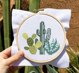 DIY Cross Stitch: Desert Cacti