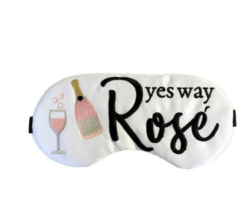 Yes Way Rose Satin Sleep Mask
