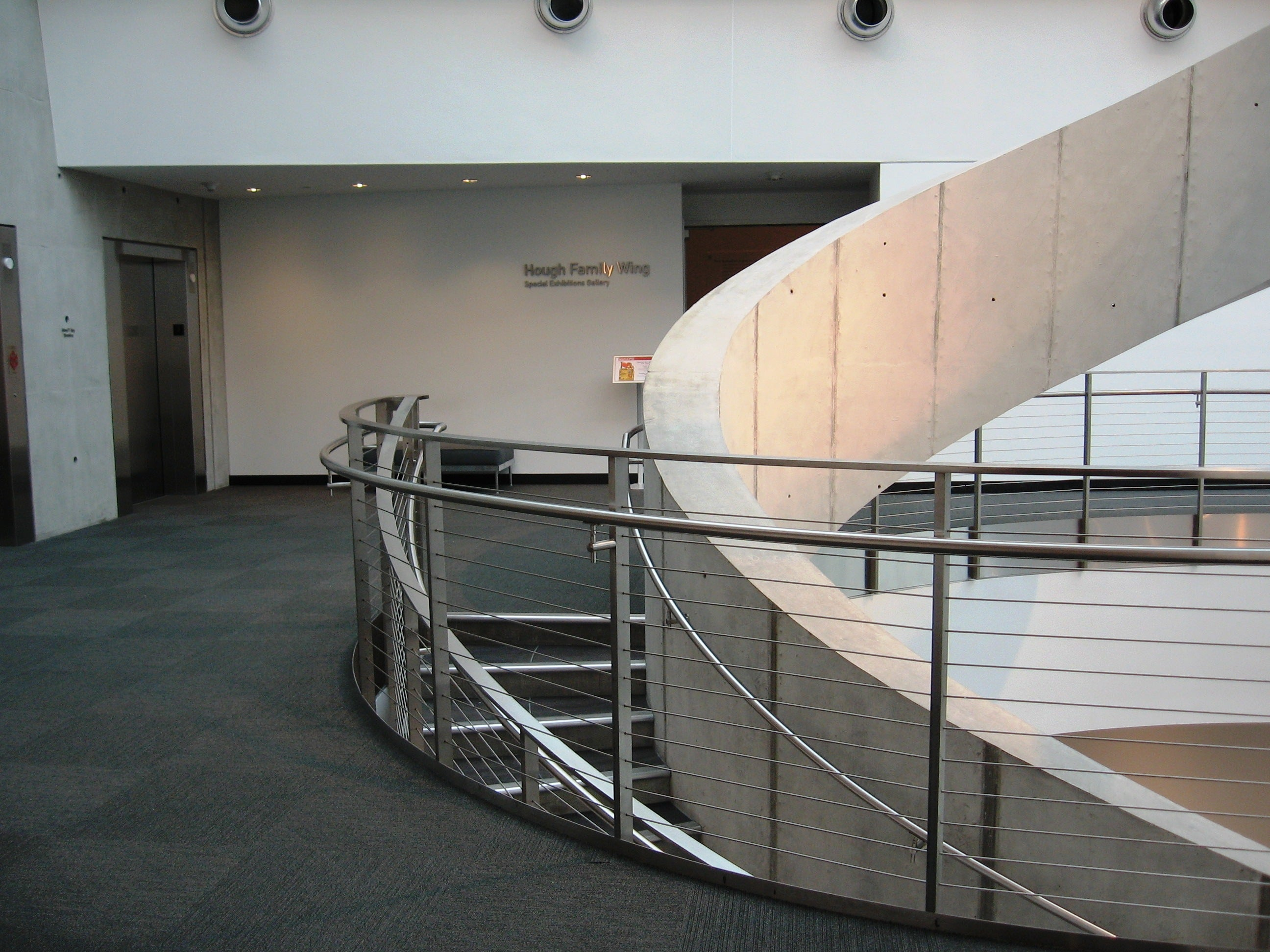 indoor cable railing