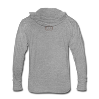 """Reconciliation"" Unisex Tri-Blend Hoodie Shirt - light - heather gray"