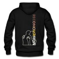 Reconciliation Hoodie - (light print) - black