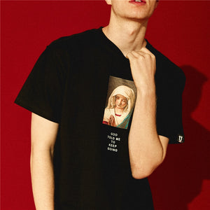 Graphic T-Shirt with Saint