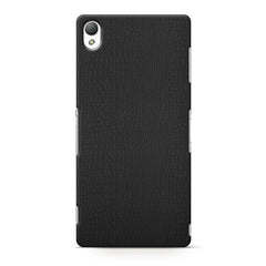 Case WILD for SONY Xperia Z3, black croco