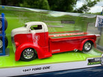 1947 Ford COE Flatbed Firestone 1:24 DieCast