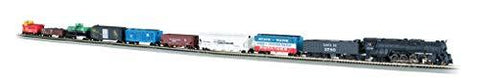 Bachmann Trains - Empire Builder 68 Piece Electric Train Set - N Scale - UniqueVintages