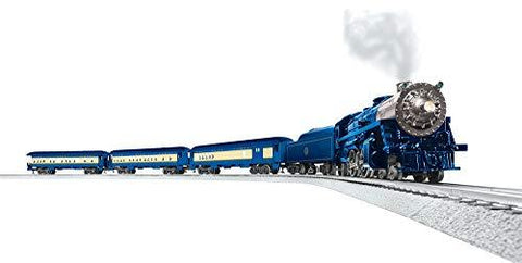 Lionel Blue Comet Electric O Gauge Model Train Set - UniqueVintages