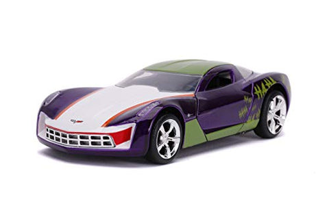 The Joker's 2009 Chevy Corvette Stingray 1:32 DieCast