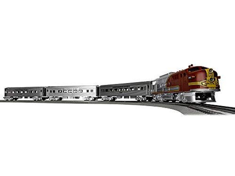 Lionel Santa Fe Super Chief Electric O Gauge Model Train Set - UniqueVintages