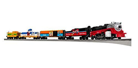 Lionel Disney Mickey & Friends Express Electric O Gauge Model Train Set - UniqueVintages