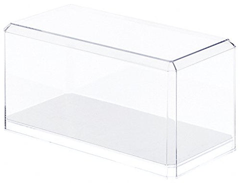 Mirrored Clear Acrylic Display Case for 1:24 Scale Cars