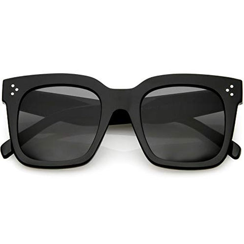 Vintage retro square frame sunglasses