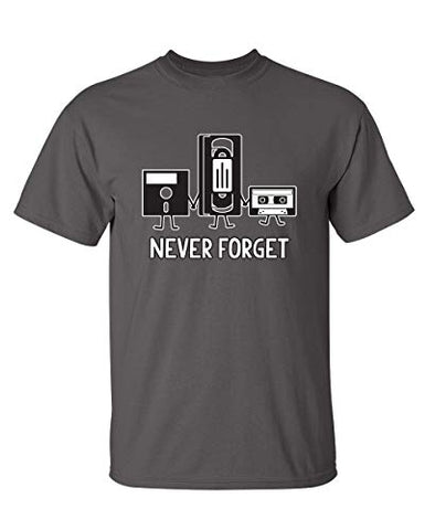 Never Forget Retro Graphic T-Shirt