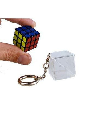 Rubik's Cube Functional Keychain - UniqueVintages
