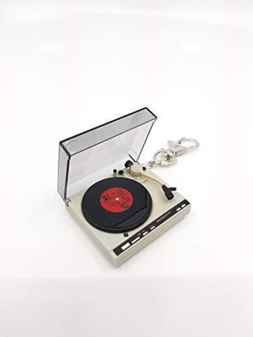 Retro Turntable Vinyl Keychain - UniqueVintages