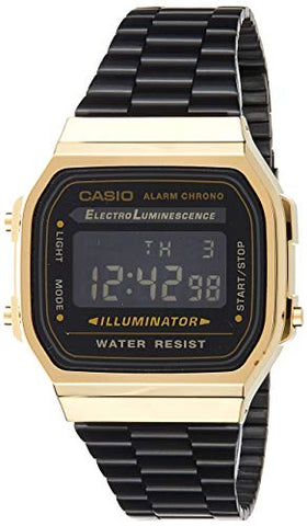 Casio Retro Collection Unisex Watch A168WEGB-1BEF