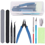 9Pcs Model Tools Kit Hobby Building Tools