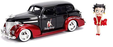 1939 Betty Boop Chevy Master Deluxe 1:24 DieCast - UniqueVintages