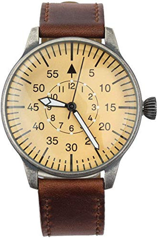 Luftwaffe Me109 WW2 Aviator Vintage Pilot Watch