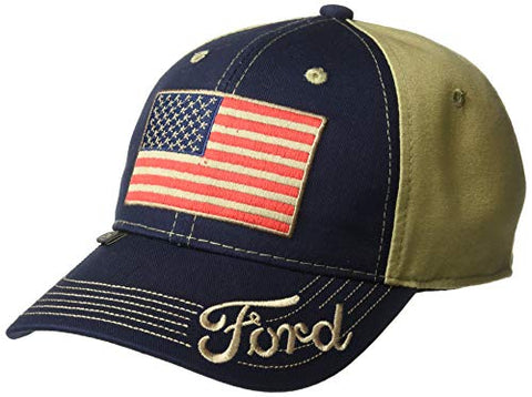 Ford American Flag Truck Cap