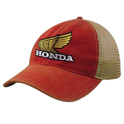 Honda Wing Retro Vintage Snap Hat