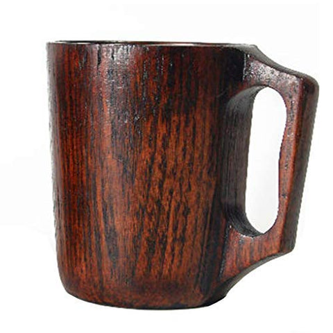 Handmade Wooden Coffee Mug 12 oz