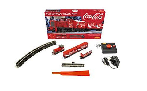 Coca-Cola Electric Model Train HO Set - UniqueVintages