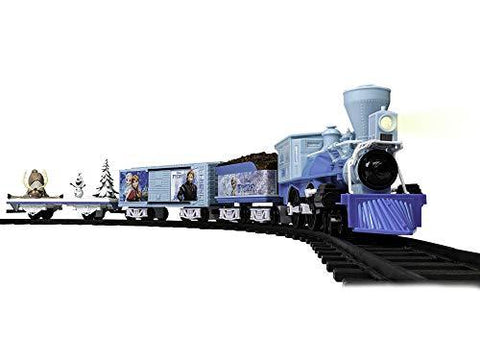 Lionel Disney's Frozen Battery-Powered Model Train Set - UniqueVintages