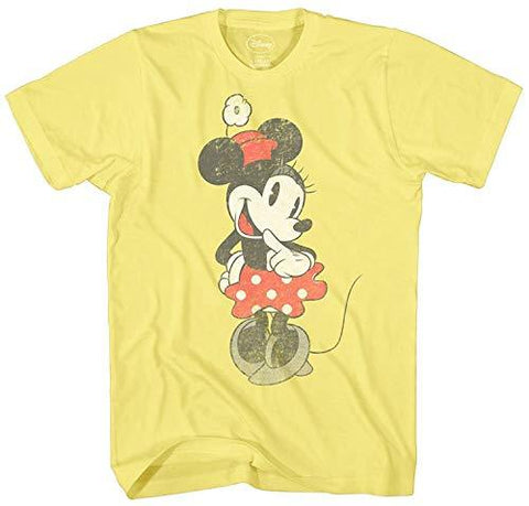 Disney Vintage Minnie Mouse Graphic T-Shirt - UniqueVintages