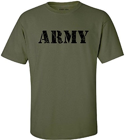 Military Vintage Army Logo T-Shirt