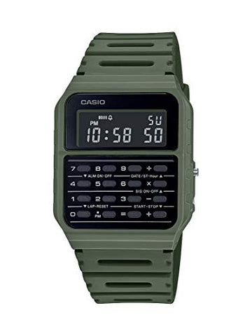 Casio Retro Army Data Bank Quartz Watch