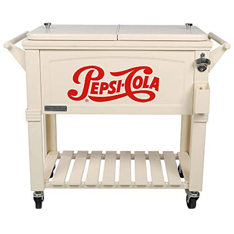PEPSI Vintage 80 Patio Cooler, Retro Pepsi