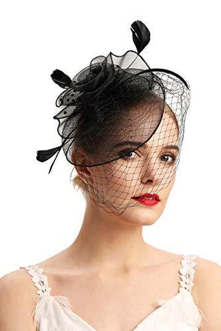 Fascinators Retro Hats 20s Pillbox - UniqueVintages