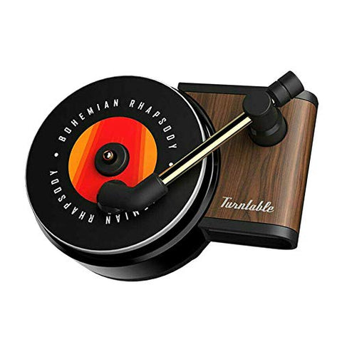Vintage Retro Style - Car Air Freshener Record Player