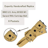 Retro WWII U.S. M1923 M1 Garand Rifle Cartridge Belt