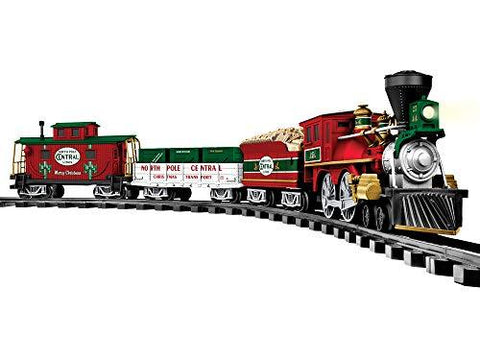 Lionel North Pole Central Battery-powered Model Train Set - UniqueVintages